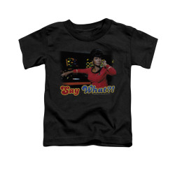 Image for Star Trek Toddler T-Shirt - Say What?