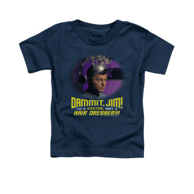 Image for Star Trek Toddler T-Shirt - I'm a Doctor Not a Hairdresser