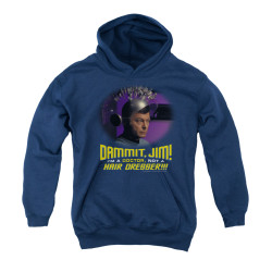 Image for Star Trek Youth Hoodie - I'm a Doctor Not a Hairdresser