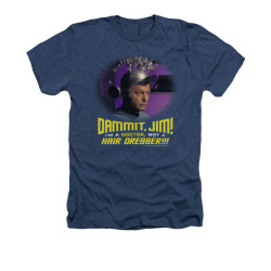 Image for Star Trek Heather T-Shirt - I'm a Doctor Not a Hairdresser