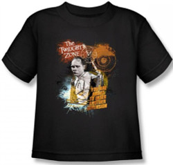 Image for Twilight Zone About to Enter Kids T-Shirt