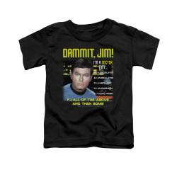 Image for Star Trek Toddler T-Shirt - All the Above