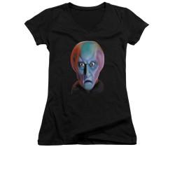 Image for Star Trek Girls V Neck - Balok Head