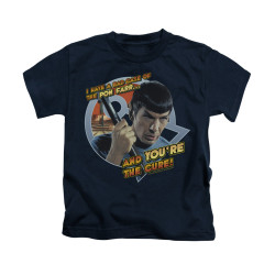 Image for Star Trek Kids T-Shirt - I've Got a Bad Case of the Pon Far
