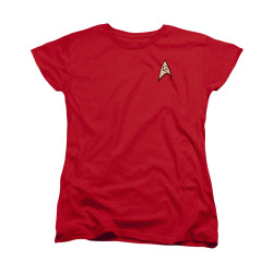 Image for Star Trek Womans T-Shirt - Engineering Uniform