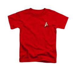 Image for Star Trek Toddler T-Shirt - Engineering Uniform