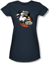 Image for Twilight Zone From Another Galaxy Girls Shirt