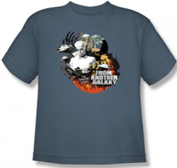 Image for Twilight Zone From Another Galaxy Youth T-Shirt