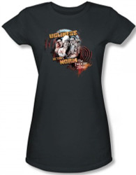 Image for Twilight Zone Ugliness is the Norm Girls Shirt