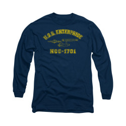Image for Star Trek Long Sleeve Shirt - Enterprise Athletic