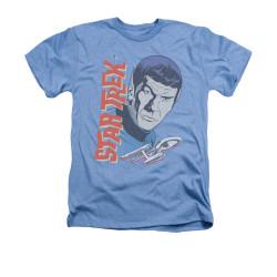Image for Star Trek Heather T-Shirt - Vintage Spock