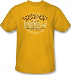 Image Closeup for Star Trek T-Shirt - Starfleet Academy Kirk Graduation