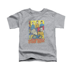 Image for Star Trek Toddler T-Shirt - Vintage Comic Collage