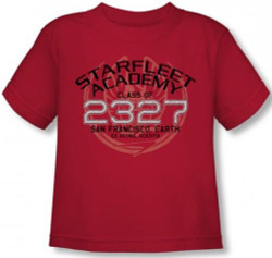 Image for Star Trek Toddler T-Shirt - Starfleet Academy Picard Graduation