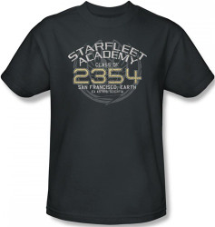 Image Closeup for Star Trek T-Shirt - Starfleet Academy Sisko Graduation