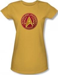 Image for Star Trek Girls T-Shirt - Starfleet Academy Command