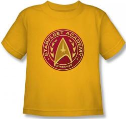 Image for Star Trek Kids T-Shirt - Starfleet Academy Command