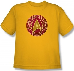 Image for Star Trek Youth T-Shirt - Starfleet Academy Command