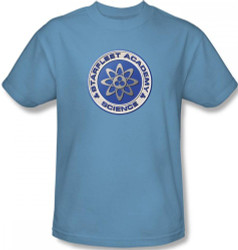 Image Closeup for Star Trek T-Shirt - Starfleet Academy Science