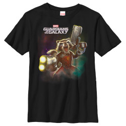 Image for Guardians of the Galaxy Youth T-Shirt - Two Fisted