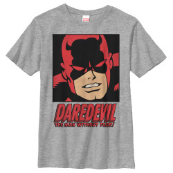 Image for Daredevil Youth T-Shirt - Man Without Fear