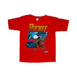Image for Guardians of the Galaxy Toddler T-Shirt - Rocket Diagram