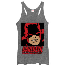Image for Daredevil Womens Tank Top - Man Without Fear