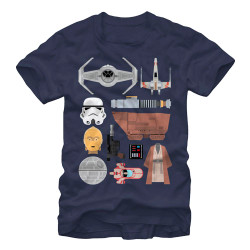 Image for Star Wars the Essentials T-Shirt