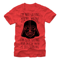 Image for Star Wars That is Disturbing T-Shirt