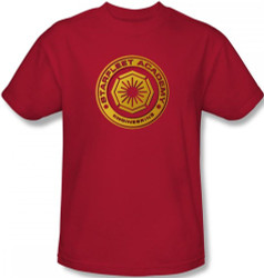 Image Closeup for Star Trek T-Shirt - Starfleet Academy Engineering