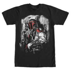 Image for Star Wars Boba Fett Duo Tone T-Shirt