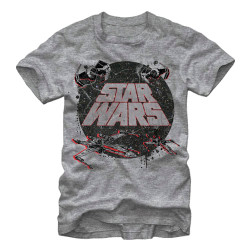 Image for Star Wars Retro Space Heather T-Shirt