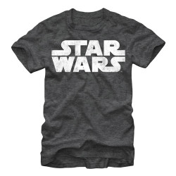 Image for Star Wars Simplest Logo Heather T-Shirt