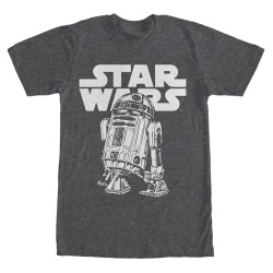 Image for Star Wars Classic R2D2 Heather T-Shirt