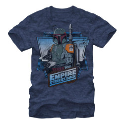 Image for Star Wars the Fett Heather T-Shirt