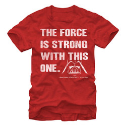 Image for Star Wars Strong Force Heather T-Shirt