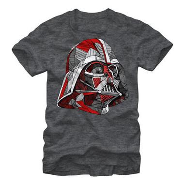 Image for Star Wars Line Vader Heather T-Shirt