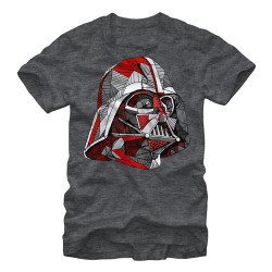 Image for Star Wars Line Vader Heather T-Shirt