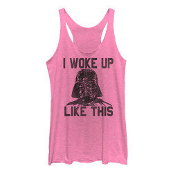 Image for Star Wars Womens Tank Top - I Woke Up Like This