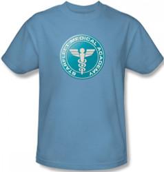 Image Closeup for Star Trek T-Shirt - Starfleet Academy Medical