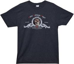 Image Closeup for MGM Retro Logo T-Shirt