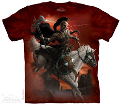 Image for The Mountain T-Shirt - Dark Rider
