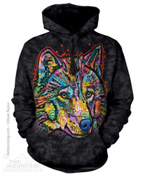 Image for The Mountain Hoodie - Happy Wolf