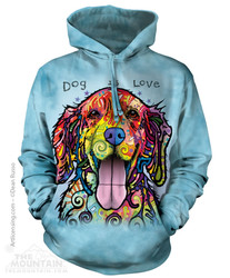 Image for The Mountain Hoodie - Dog is Love