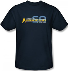 Image Closeup for Star Trek T-Shirt - I Survived the Kobayashi Maru