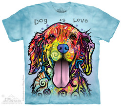 Image for The Mountain Youth T-Shirt - Dog is Love
