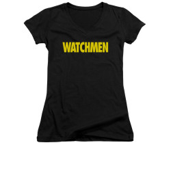 Image for The Watchmen Girls V Neck - Logo