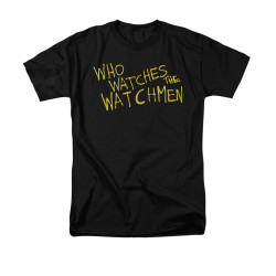 Image for The Watchmen T-Shirt - Who Watches?