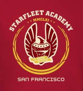 Image for Star Trek T-Shirt - Starfleet Academy Heraldry