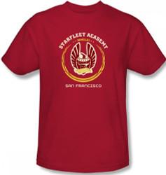 Image Closeup for Star Trek T-Shirt - Starfleet Academy Heraldry
